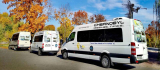 SoloEast comfortable and modern air-conditioned minibuses